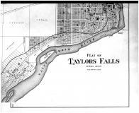 Taylors Falls - Below, Chisago County 1888